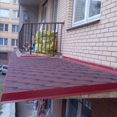 Ремонт крыши балкона Промышленные альпинисты Москва и Московская область (ООО Альпинисты-М)