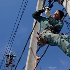Электрика на высоте Промышленные альпинисты Москва и Московская область (ООО Альпинисты-М)