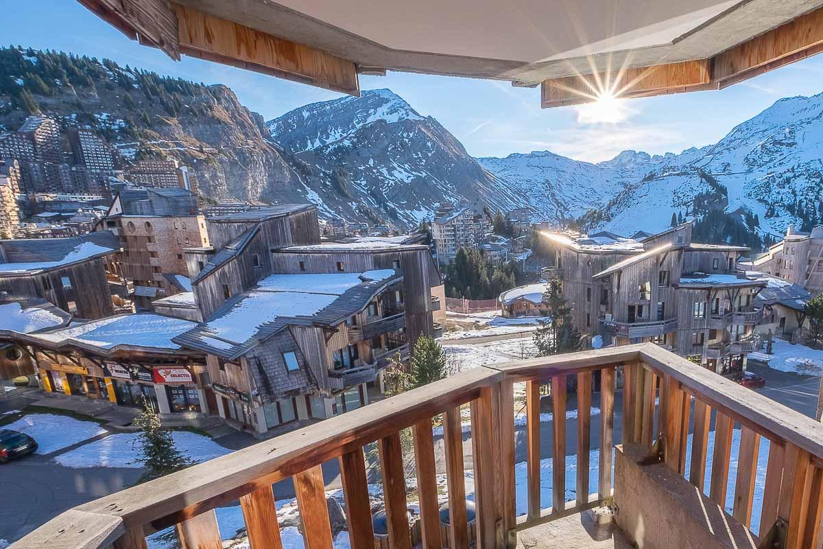 appartement montagne neige
