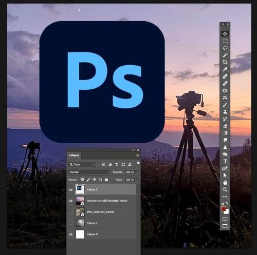 formation logiciel retouche images photoshop