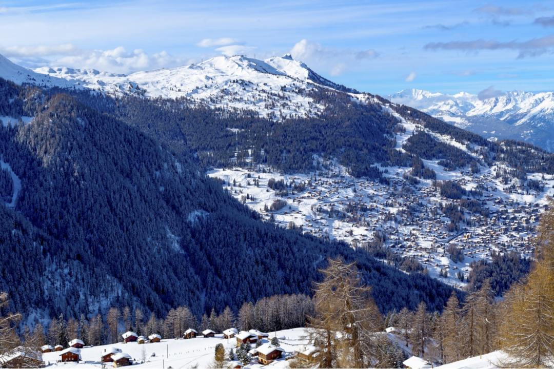 Village in moutains