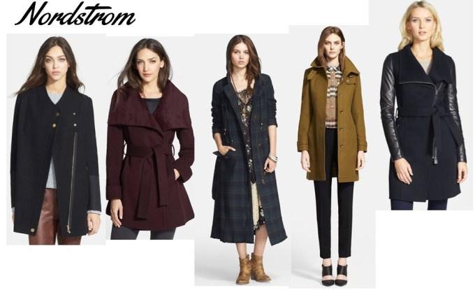 Nordstrom fall coats