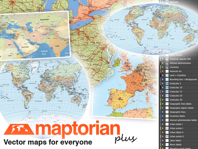 Map vector Maptorian