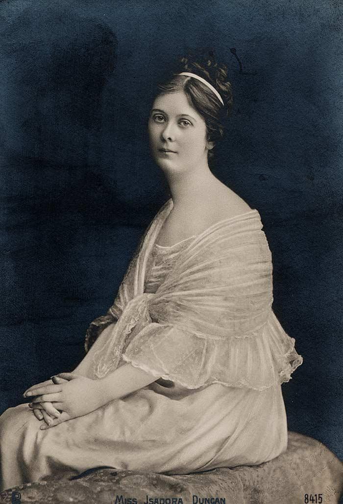 La absurda muerte de Isadora Duncan