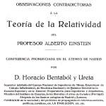 Horacio Bentabol, el azote de Einstein
