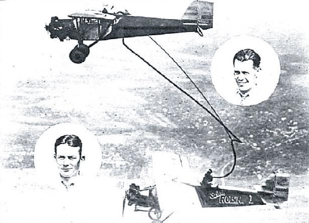 La aventura de Jackson y O'Brine: 17 días de vuelo sin tocar el suelo (1929)