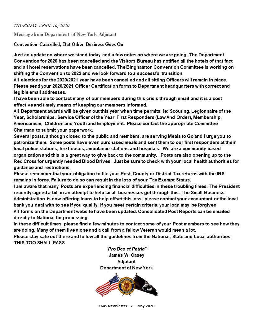 PAGE 2 - Newsletter