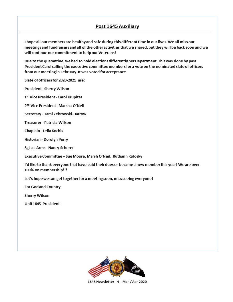 PAGE 4 - Newsletter