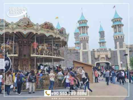 برنامج سياحي عائلي في تركيا - مدينة الالعاب فيالاند