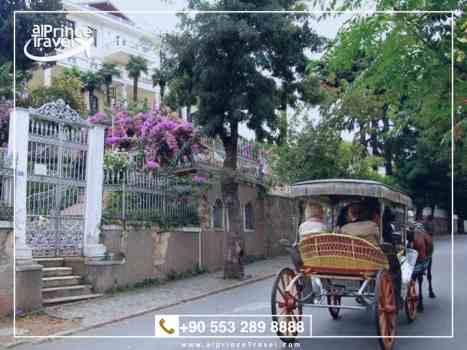 برنامج سياحي لتركيا لمدة 12 يوم - جزيرة الاميرات