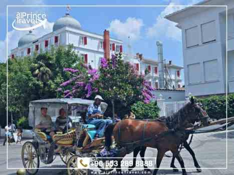 برنامج شهر عسل في تركيا - جزيرة الاميرات.