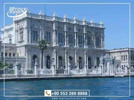 جدول سياحي في تركيا لمدة 11 يوم - قصر دولما بهجة.