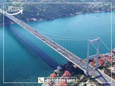 جدول سياحي لتركيا لمدة 9 ايام - مضيق البوسفور