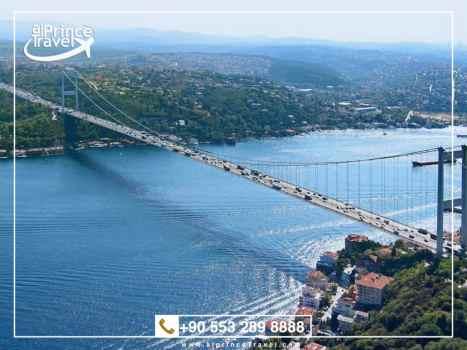 برنامج سياحي لتركيا لمدة 10 ايام- مضيق البوسفور