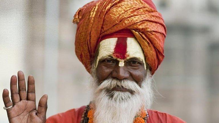 Hindistan hintli-sadhu