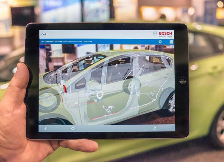 Bosch ve Artırılmış Gerçeklik