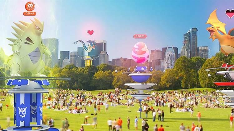 Artırılmış Gerçeklik Pokemon Go Raid