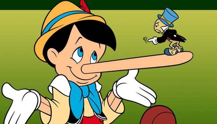 Beyaz yalanlar Pinokyo