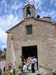 San Roque en la fiesta de Baldovar
