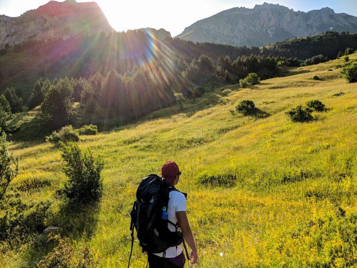 Mount Korab hiking Albania Macedonia