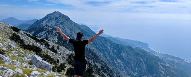 Maja e Qorres Llogora National Park