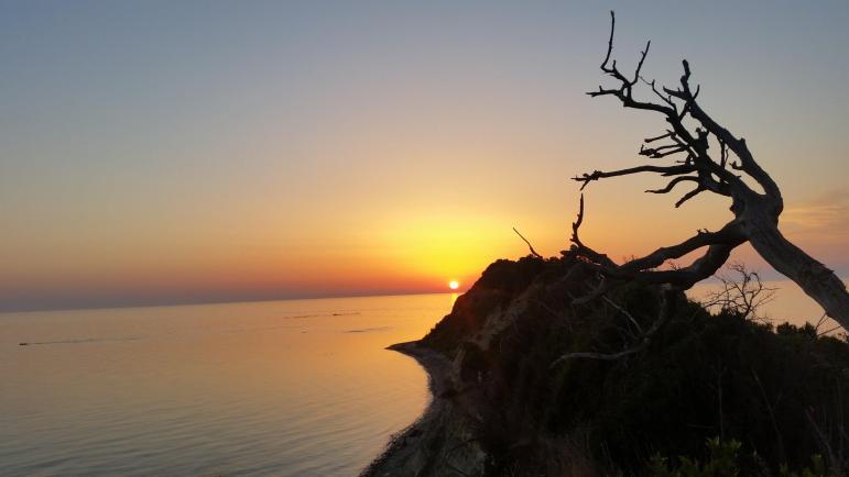 Cape of Rodon sunset