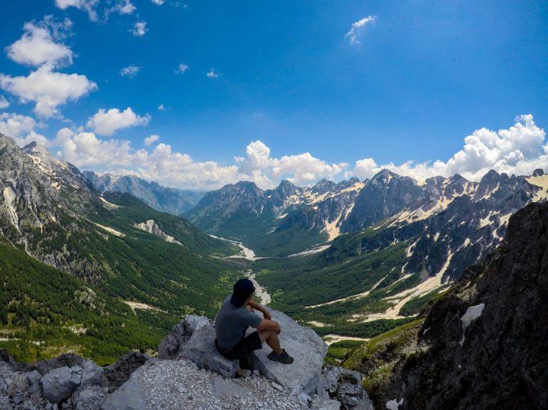Valbona Valley view