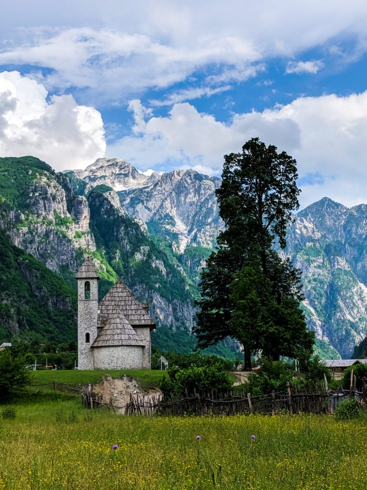 Church of Theth Albania