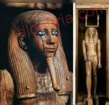 صورة الكا القرين  تمثال مرعب تعرف على أسراره