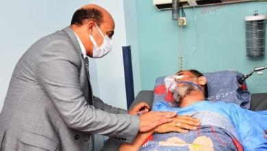 صورة محافظ أسوان يزور مستشفى أسوان الجامعى للأطمئنان علي المرضي
