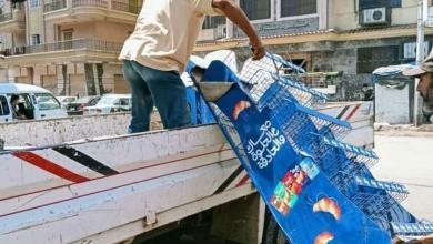صورة رفع ١٠٢ طن قمامة و٢٣١ حالة إشغال ثابت ومتحرك بمركز ومدينة دمنهور