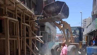 صورة استمرار رفع درجة الاستعداد للتصدي للبناء المخالف بمحافظة القاهرة خلال عيد الأضحى