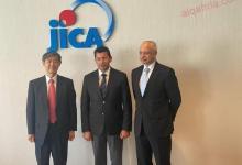 """صورة وزير الشباب والرياضة يلتقي مدير هيئة التعاون الدولي اليابانية """"جايكا"""""""