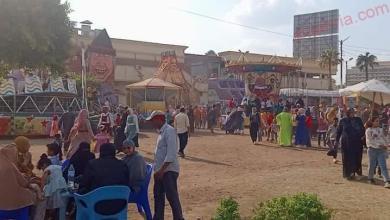 صورة توافد على الحدائق وتوفير كل احتياجات المواطنين في ثالث أيام عيد الأضحى بكفر الشيخ