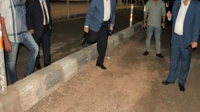 صورة أول  مضمار دولى للهجن مضاء ليلا على مستوى العالم بشرم الشيخ