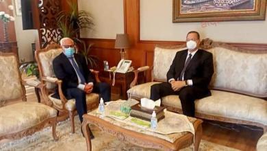 صورة محافظ بورسعيد يستقبل مدير أمن بورسعيد