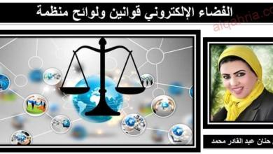 صورة الفضاء الإلكتروني قوانين ولوائح منظمة صباحك تكنولوجيا