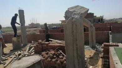 صورة محافظ بورسعيد: إزالة مخالفة بمنطقة مشروع ناصر على مساحة 100متر بالجنوب