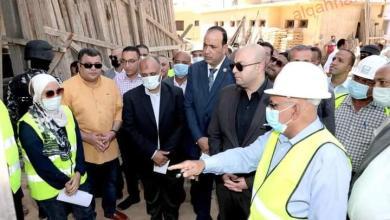 صورة محافظ بني سويف يتابع سير العمل في مشروعات المبادرة الرئاسية حياة كريمة بقمبش الحمراء