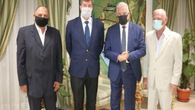 صورة محافظ جنوب سيناء يستقبل سفير دولة بلجيكا