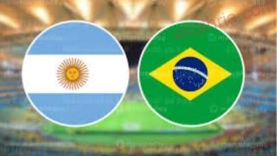صورة نيمار يقودتشكيل البرازيل امام الارجنتين