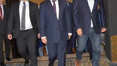 صورة محافظ بورسعيد يشهد مؤتمر اقتصادى لدعم مشروعات العاصمة الجديدة .