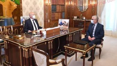 صورة رئيس الجمهورية التونسية يستقبل وزير التربية