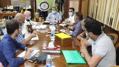 صورة محافظ المنوفية يناقش الموقف التنفيذى لكافة مشروعات التطوير بنطاق المحافظة