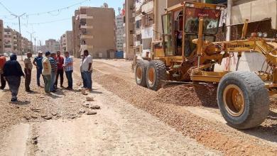 صورة جولة لمتابعة رصف وتطوير شوارع العبور وأحد واليسر وتفقد الاعمال بمشروع كورنيش ترعة السويس