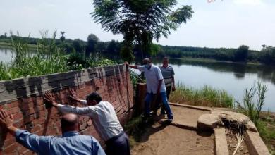 صورة محافظ المنوفية : إزالة 481  حالة تعدي علي أملاك الدولة والأراضي الزراعية