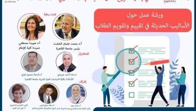 صورة ورشة عمل باعلام القاهرة عن الاساليب الحديثة في تقييم وتقويم الطلاب في جامعات الجيل الرابع