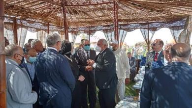 صورة محافظ كفرالشيخ ونائبه يشاركان بفعاليات الملتقى التسويقي المصرى الأول للتمور بمحافظة الوادى الجديد