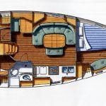 Velero de alquiler sin patrón en Valencia Oceanis 393