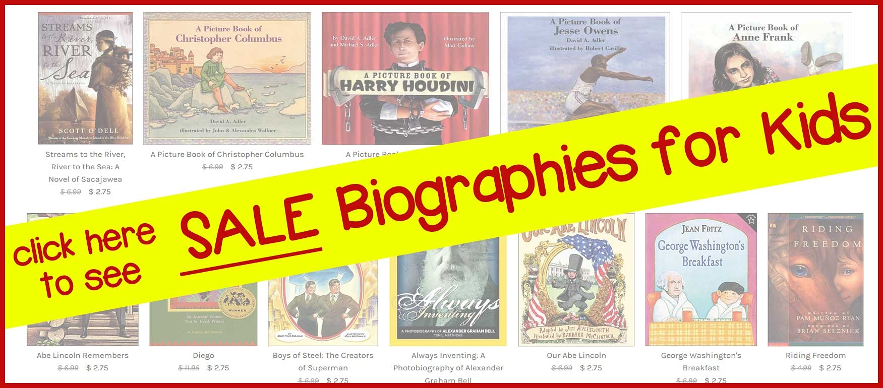 6 Pics Autobiographies For Kids To Read Online And